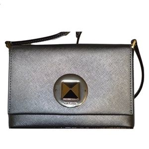 Kate Spade Anthracite Sally Newbury Lane Crossbody
